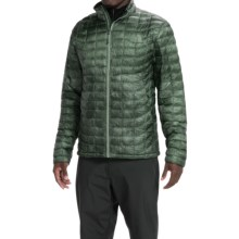 The North Face ThermoBall® Jacket - Insulated (For Men) in Laurel Wreath Green Cirrus Print - Closeouts