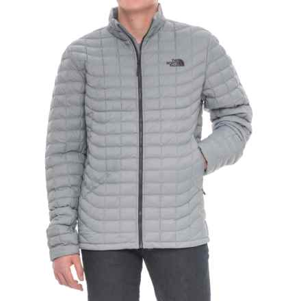 The North Face ThermoBall® Jacket - Insulated (For Men) in Monnument Grey Matte - Closeouts
