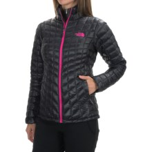 The North Face Thermoball Jacket - Insulated (For Women) in Asphalt Grey - Closeouts