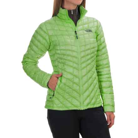 The North Face ThermoBall® Jacket - Insulated (For Women) in Budding Green - Closeouts