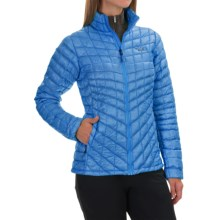 The North Face Thermoball Jacket - Insulated (For Women) in Clear Lake Blue - Closeouts