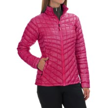 The North Face Thermoball Jacket - Insulated (For Women) in Fuschia Pink - Closeouts