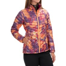 The North Face Thermoball Jacket - Insulated (For Women) in Geo Floral Print - Closeouts