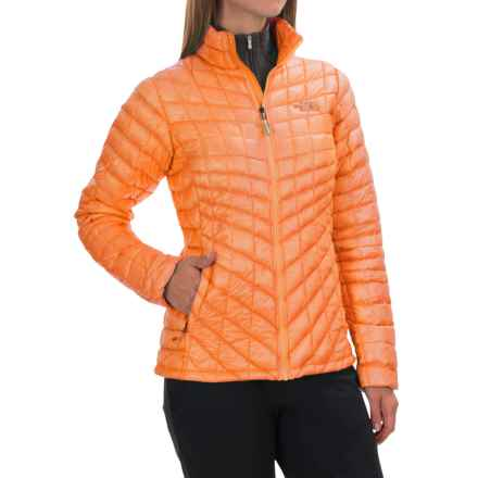The North Face ThermoBall® Jacket - Insulated (For Women) in Impact Orange - Closeouts