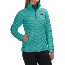 The North Face Thermoball Jacket - Insulated (For Women) in Kokomo Green - Closeouts