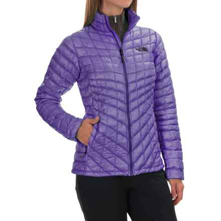 The North Face ThermoBall® Jacket - Insulated (For Women) in Starry Purple - Closeouts