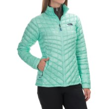 The North Face Thermoball Jacket - Insulated (For Women) in Surf Green - Closeouts