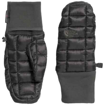 The North Face ThermoBall Mittens (For Women) in Asphalt Grey - Closeouts