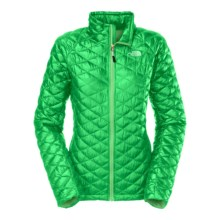 The North Face Thermoball PrimaLoft® Full Zip Jacket - Insulated (For Women) in Surreal Green - Closeouts