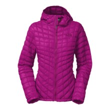The North Face Thermoball PrimaLoft® Hooded Jacket - Insulated (For Women) in Luminous Pink - Closeouts