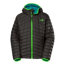 The North Face Thermoball PrimaLoft® Jacket (For Little and Big Boys) in Graphite Grey - Closeouts