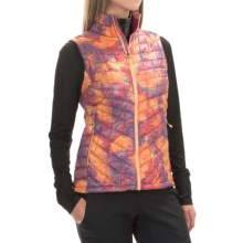 The North Face Thermoball PrimaLoft® Vest - Insulated (For Women) in Geo Floral Print - Closeouts