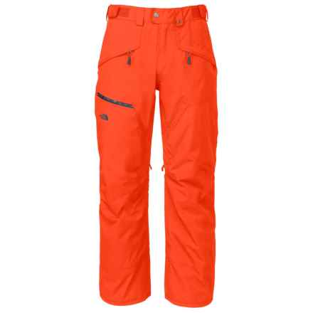The North Face ThermoBall® Ski Pants - Waterproof, Insulated (For Men) in Acrylic Orange - Closeouts