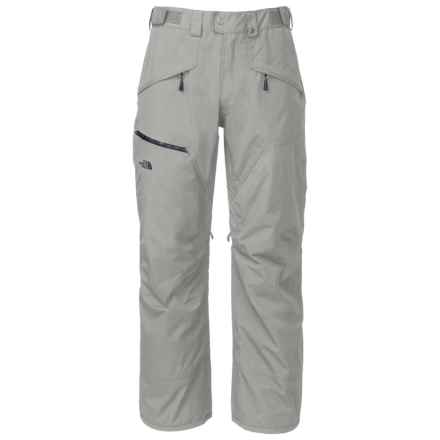 The North Face ThermoBall® Ski Pants - Waterproof, Insulated (For Men) in Monument Grey - Closeouts