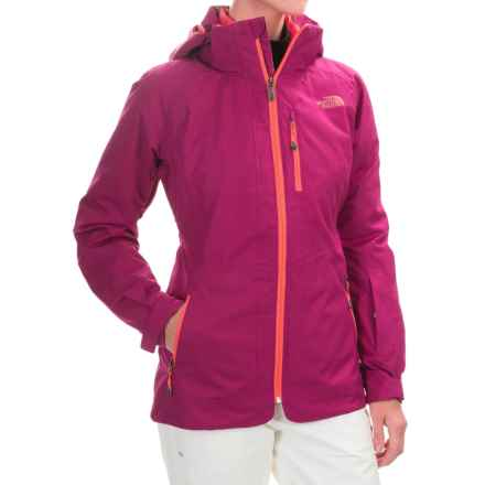 The North Face ThermoBall® Snow Triclimate® Parka - Insulated, 3-in-1 (For Women) in Plum Tree Purple - Closeouts