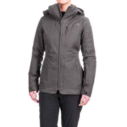 The North Face ThermoBall® Snow Triclimate® Parka - Waterproof, Insulated, 3-in-1 (For Women) in Rabbit Grey Heather - Closeouts