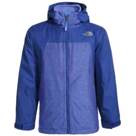 The North Face ThermoBall® Triclimate® Jacket - Waterproof, Insulated, 3-in-1 (For Little and Big Boys) in Honor Blue - Closeouts