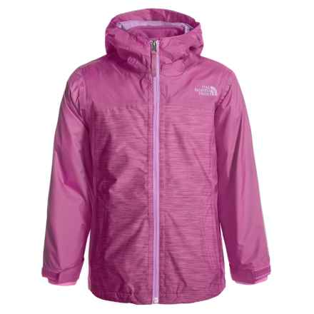 The North Face ThermoBall® TriClimate® Jacket - Waterproof, Insulated, 3-in-1 (For Little and Big Girls) in Wisteria Purple Heather - Closeouts