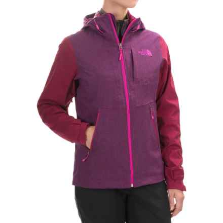 The North Face ThermoBall® Triclimate® Jacket - Waterproof, Insulated, 3-in-1 (For Women) in Dramatic Plum Heather/Dramatic Plum - Closeouts