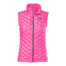 The North Face Thermoball Vest - Insulated (For Women) in Glo Pink - Closeouts