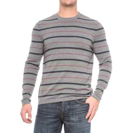 The North Face ThermoWool Shirt - Merino Wool, Long Sleeve (For Men) in Tnf Medium Grey Heather Stripe - Closeouts