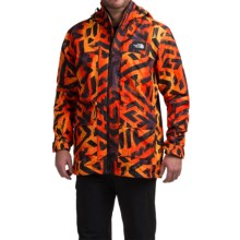 The North Face Tight Ship Ski Jacket - Waterproof (For Men) in Acrylic Orange Shaka Print - Closeouts