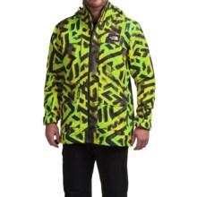 The North Face Tight Ship Ski Jacket - Waterproof (For Men) in Venom Yellow Shaka Print - Closeouts
