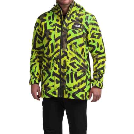 The North Face Tight Ship Ski Jacket - Waterproof (For Men) in Venom Yellow Shaka Print - Closeouts