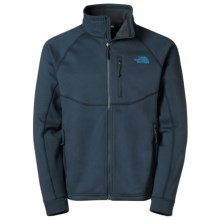 The North Face Timber Fleece Jacket - Full Zip (For Men) in Cosmic Blue - Closeouts