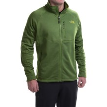 The North Face Timber Fleece Jacket - Full Zip (For Men) in Scallion Green - Closeouts