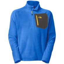 The North Face TKA 100 Trinity Alps Pullover - Polartec® Fleece (For Men) in Jake Blue - Closeouts