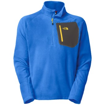 The North Face TKA 100 Trinity Alps Pullover - Polartec® Fleece (For Men) in Jake Blue