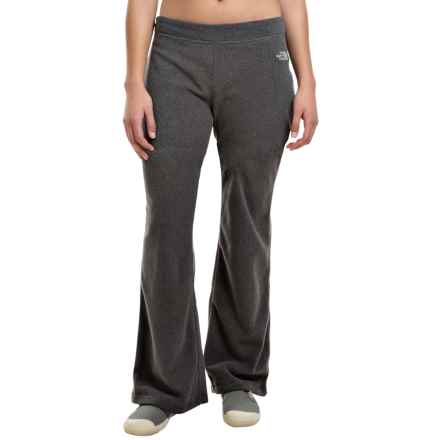 The North Face TKA Fleece Pants (For Women) in Graphite Grey Heather - Closeouts