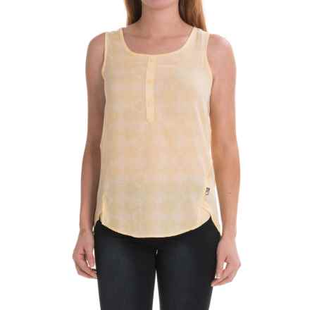 The North Face Touring Tank Top (For Women) in Golden Haze Diamond Print - Closeouts