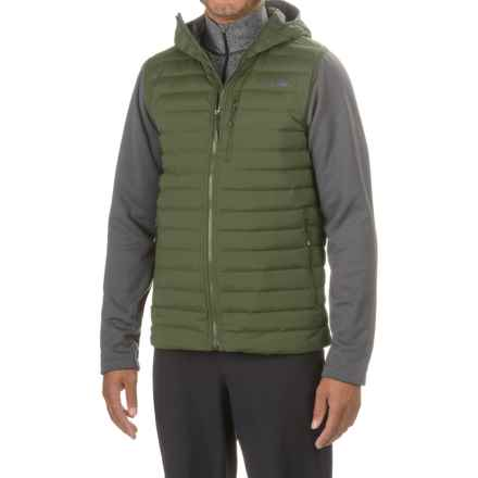 The North Face Trevail Stretch Hybrid Down Hooded Jacket - 700 Fill Power (For Men) in Climbing Ivy Green/Fusebox Grey - Closeouts