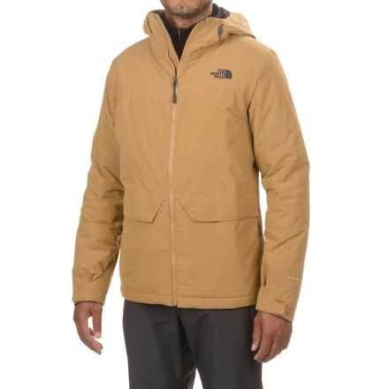 The North Face Triclimate® Canyonlands Hooded Jacket - Waterproof, Insulated (For Men and Big Men) in Dijon Brown - Closeouts