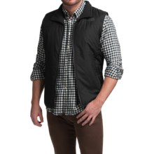 The North Face Trinity Reversible Vest - Insulated (For Men) in Tnf Black/Tnf Black - Closeouts