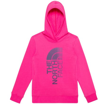 dd5b5c908 The North Face Trivert Hoodie (For Little and Big Girls) in Petticoat Pink -