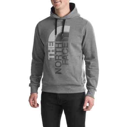 The North Face Trivert Hoodie (For Men) in Tnf Medium Grey Heather (Std)/Tnf Black Multi - Closeouts