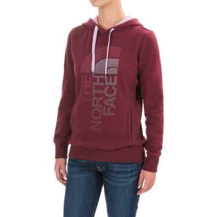 The North Face Trivert Hoodie (For Women) in Deep Garnet Red/Lupine Multi - Closeouts