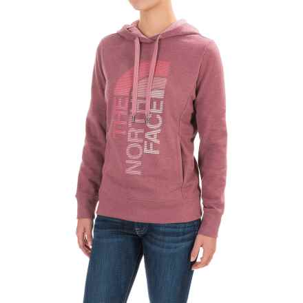 The North Face Trivert Hoodie (For Women) in Heather Red Amaranth - Closeouts