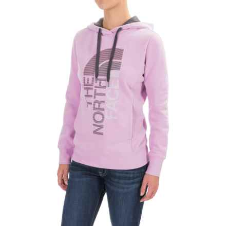 The North Face Trivert Hoodie (For Women) in Lupine/Asphalt Grey Multi - Closeouts