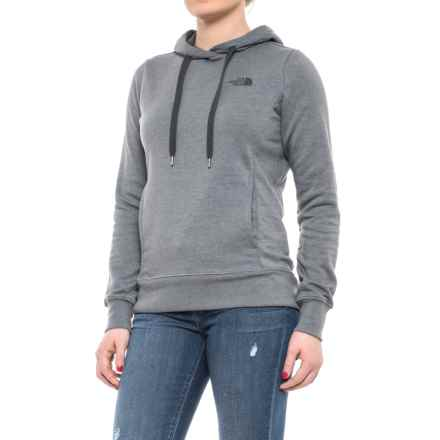 The North Face Trivert Hoodie (For Women) in Tnf Medium Grey Heather/Asphalt Grey Multi - Closeouts