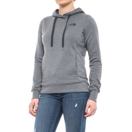 The North Face Trivert Hoodie (For Women) in Tnf Medium Grey Heather/Asphalt Grey Multi