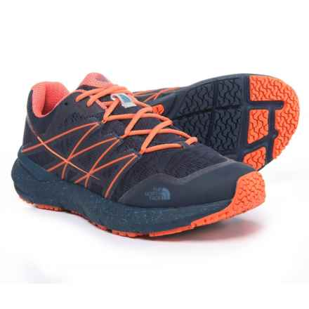 The North Face Ultra Cardiac II Trail Running Shoes (For Women) in Shady Blue/Nasturtium Orange - Closeouts