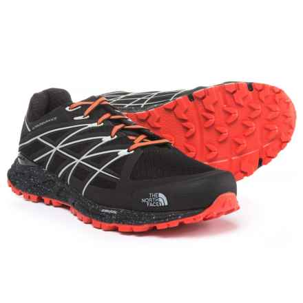 The North Face Ultra Endurance Trail Running Shoes (For Men) in Tnf Black/Valencia Orange - Closeouts