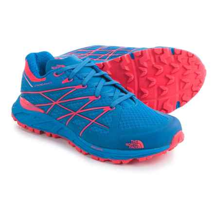 The North Face Ultra Endurance Trail Shoes (For Women) in Blue Quartz/Rocket Red - Closeouts
