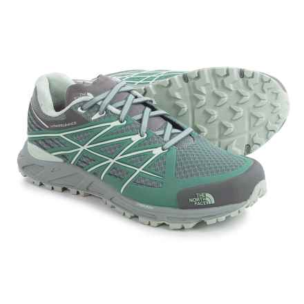 The North Face Ultra Endurance Trail Shoes (For Women) in Sedona Sage Grey/Subtle Green - Closeouts