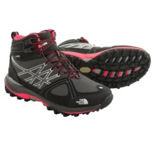 The North Face Ultra Extreme Gore-Tex® Winter Boots - Waterproof, Insulated (For Women) in Dark Gull Grey/Rocket Red - Closeouts