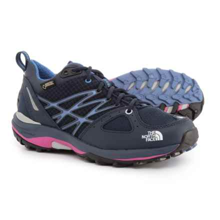 The North Face Ultra Fastpack Gore-Tex® Trail Running Shoes - Waterproof (For Women) in Cosmic Blue/Rocket Red - Closeouts